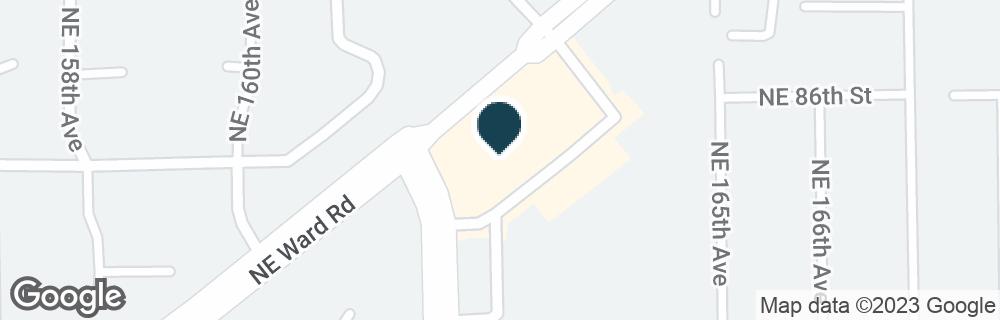 Google Map of8511 NE 162ND AVE