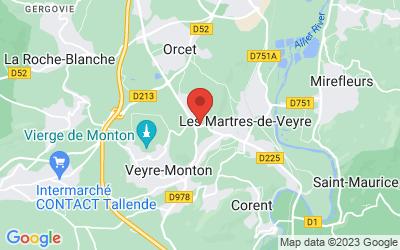 Rue de Tobize, 63730 Les Martres-de-Veyre, France
