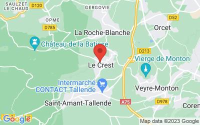 10 Rue Néraud, 63450 Le Crest, France