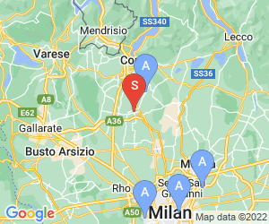 Karte für Piscina e parco acquatico Aquasport