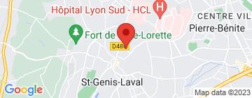 Carte Le Clos Saint Genois - Petit Paumé