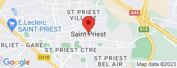 Carte Hippopotamus Lyon Saint Priest - Petit Paumé