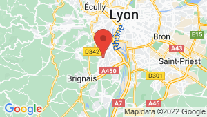 Carte de localisation du centre de contrôle technique SAINT GENIS LAVAL
