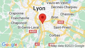Carte de localisation du centre de contrôle technique SAINT FONS