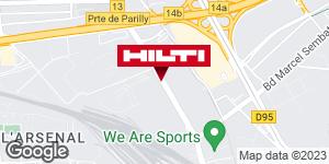 Espace Hilti - La Plateforme du Bâtiment - Lyon / Vaulx en Velin