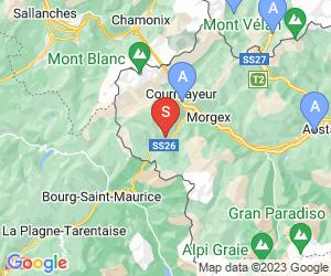 Karte für La Thuile/La Rosiere