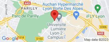 Carte Hippodrome de Parilly - Petit Paumé