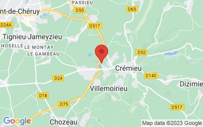 Chemin du Buisson Rond, 38460 Villemoirieu, Rhone-Alpes, France