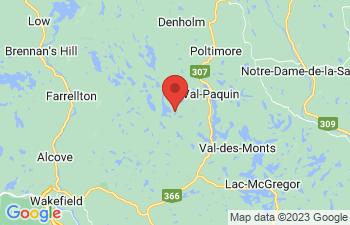 Map of Val-Des-Monts