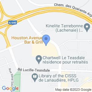 Houston Avenue Bar & Grill - Lachenaie Map
