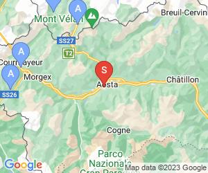 Karte für Pila/Aostatal