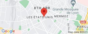 Carte IAE Lyon - Petit Paumé