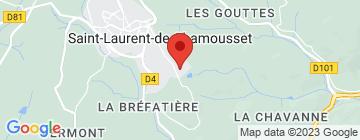 Carte Château de la Charmeraie - Petit Paumé