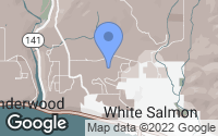 Map of White Salmon, WA