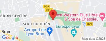 Carte Eurexpo - Petit Paumé
