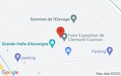 Grande Halle d'Auvergne Plaine de Sarliève63802 Cournon d'Auvergne Cedex