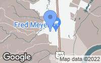 Map of Scappoose, OR