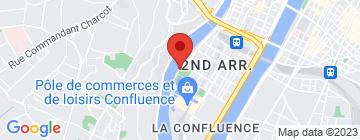 Carte Les Yatchs de Lyon - Petit Paumé