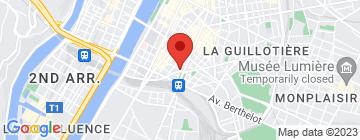 Carte Cours Diderot  - Petit Paumé