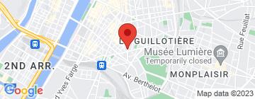 Carte Le 27 Madeleine - Petit Paumé