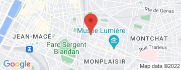 Carte L'Épicerie - Lyon 8 - Petit Paumé