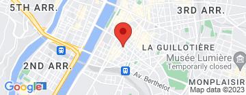 Carte Résidence Prado - Petit Paumé