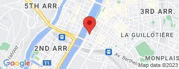 Carte Conduite Center Lyon 7 - Petit Paumé