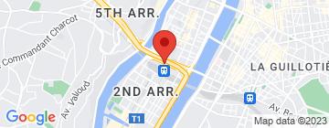 Carte Mercure Lyon Centre Château Perrache  - Petit Paumé