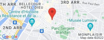 Carte Marché Saint Louis - Petit Paumé