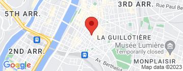 Carte Lyon Cycle Chic - Petit Paumé