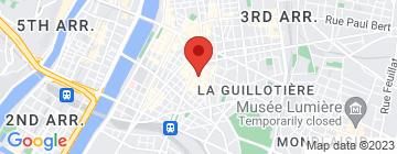 Carte Les Petits Bilingues Lyon 7 - Petit Paumé