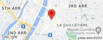 Carte Le Flâneur Guesthouse - Petit Paumé