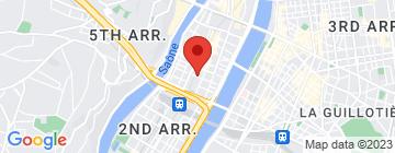 Carte UCPA Lyon - Petit Paumé