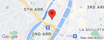 Carte L'Espace Carnot - Petit Paumé