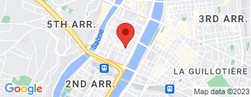 Carte Aqua Beauté Lounge Fish Concept - Fermé - Petit Paumé