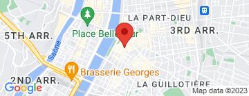 Carte Chinese School Lyon - Petit Paumé
