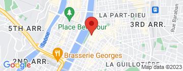 Carte Les bateaux lyonnais - Bateau Restaurant Hermès - Petit Paumé