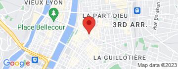 Carte Hôtel de Noailles - Petit Paumé