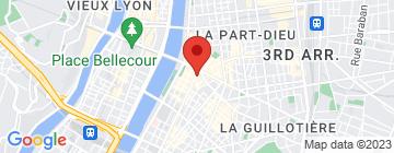Carte Lyon Harmony - Petit Paumé
