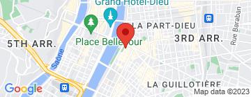 Carte Institut de Beauté Bérénice - Petit Paumé