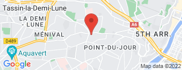 Carte Marché place Bénédicte Teissier - Petit Paumé