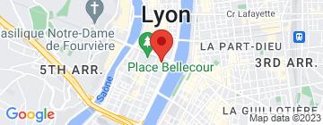 Carte La Grange des Marronniers - Petit Paumé