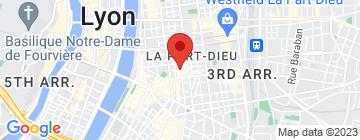 Carte La Pharmacie - Bistrot ludique  - Petit Paumé