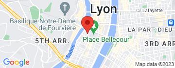 Carte Café Bellecour - Petit Paumé