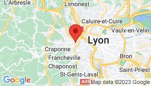 Carte de localisation du centre de contrôle technique TASSIN LA DEMI LUNE