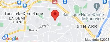 Carte La Grange de Fourvière - Petit Paumé
