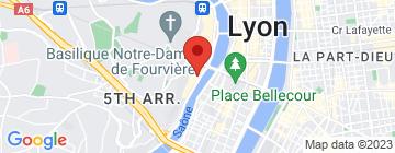 Carte Institut Coralie - Petit Paumé