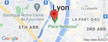 Carte La coutellerie de Lyon - Petit Paumé