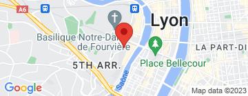 Carte Auberge de Jeunesse du Vieux Lyon - Petit Paumé
