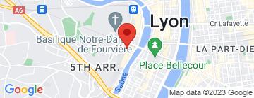 Carte La Mouss'tache - Vieux Lyon - Petit Paumé
